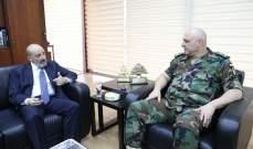 الصراف زار قائد الجيش مستطلعا الاوضاع الامنية في البلاد