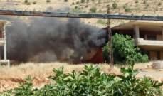 إحراق 3 منازل إثر إشكال عائلي من 7 سنوات ببلدة الصويري بالبقاع الغربي