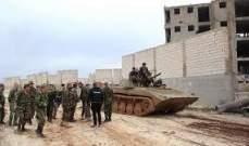 الجيش السوري يتجه لمحاصرة النقطة التركية في شير مغار وعدة قرى في محيطها