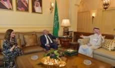 مخزومي التقى بخاري: يجب أن يبقى لبنان بعيدا من سياسات المحاور