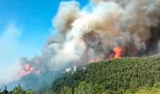 كتانة: حريق القبيات والجوار ما زال مشتعلاً ولا إصابات بالغة بين المواطنين