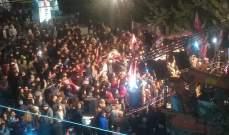 النشرة: اعتصام في ساحة الفاكهة الزيتون في البقاع لليوم التاسع والثلاثين