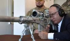 """بوتين يستعرض مهاراته ببندقية قنص""""كلاشنيكوف"""" جديدة"""