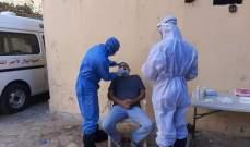 """فريق وحدة """"كورونا"""" في مستشفى الهمشري أجرى فحوص """"PCR"""" بمخيم البص في صور"""