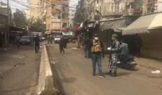 دوريات من بلديتي بيروت والغبيري أقفلت الاسواق الشعبية في صبرا وشاتيلا