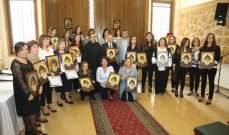 السفير الاوكراني زار المعهد الفني الانطوني في الدكوانة والاب بوعبود اشاد بالعلاقات بين البلدين