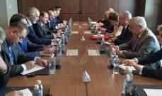 اجتماع بين الوفد السوري والوفد الروسي إلى محادثات أستانا ضمن الجولة الـ13