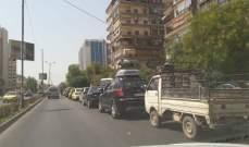النشرة: سوريا تشهد أزمة بنزين خانقة بعد تخفيض المادة للسيارات لـ30 ليتر شهريا