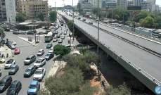حركة المرور كثيفة من المدينة الرياضية باتجاه مستديرة الكولا بسبب أشغال