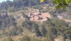 النشرة: الجيش الاسرائيلي يستقدم جرافات مقابل العديسة ويقوم بتجريف أراضي
