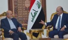 الرئيس العراقي: لاحترام الإرادة الوطنية العراقية في الإصلاح دون تدخلات خارجية