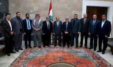 """الرئيس عون: اعتبار اسرائيل الفلسطينيين """"سكانا وليسوا مواطنين"""" ينم عن نوايا عدوانية"""