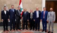 الرئيس عون تابع مسار المداولات حول الموازنة: لتعزيز علاقات التعاون بين لبنان وأوكرانيا