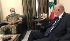 أبو سعيد التقى الاسمر وبحث معه في قضايا مشتركة