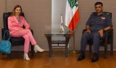 عثمان التقى سفيرة ايطاليا وعرض معها الاوضاع العامة
