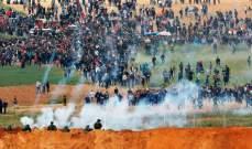 مقتل فلسطيني ثان برصاص القوات الإسرائيلية في غزة خلال مسيرة العودة