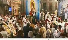 البابا تواضروس الثاني يترأس صلاتي اللقان والغطاس في الإسكندرية