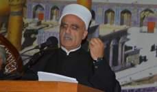 أبي المنى: للتوحد في مواجهة مشاكل مجتمعنا ولنحارب الفساد ونفكر بحاجة الفقراء