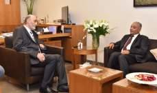 جعجع عرض مع السفير العراقي علي العامري آخر التطورات السياسيّة