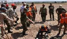 الجيش السوري يستعيد جثامين عسكريين قتلوا في إدلب عام 2015
