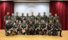 دورة بين اليونيفيل والجيش حول آلية إتخاذ القرار العسكري في مرجعيون