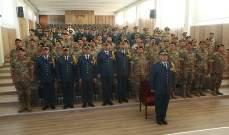 تخريج ضباط دورة آمر سرية في الكلية الحربية