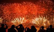 بدء احتفالات رأس السنة في الهند وسريلانكا