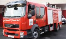 الجديد: مناشدة لعناصر الدفاع المدني لاخماد الحريق الذي اندلع باحد المباني بوسط بيروت