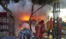 بلدية بيروت: اخماد حريق بفرن للمعجنات في منطقة الطريق الجديدة