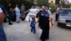 النشرة: تجمع 88 نازحا سوريا في النبطية استعدادا للعودة الطوعية الى بلادهم