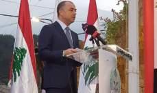 بو صعب: القرار اتخذ بوقف التهريب والتواصل مع سوريا ضروري حول المناطق المتداخلة