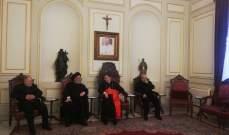 وصول وفد حزب الله الى بكركي برئاسة السيد ابراهيم امين السيد