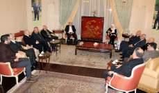 بهية الحريري التقت المجلس الاداري الجديد لجمعية تجار صيدا