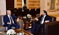 مخزومي التقى الحريري: للاسراع بإقرار الموازنة والتعاون مع الحكومة لإنجازها