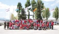 يوم ترفيهي لاطفال كريتاس في مقر قيادة الكتيبة الاسبانية