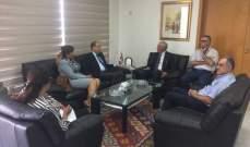 زعيتر عرض مع السفير المصري العلاقات الثنائية وسبل تطويرها