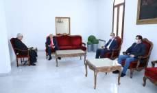 عبد الساتر استقبل طالوزيان وتطرق لسبل التعاون الإنساني والاجتماعي