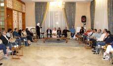 الحريري عرضت مع بلديات اتحادي صيدا وجزين ومؤسسات أهلية التحضيرات للاحتفال بعيدي المولد والميلاد