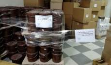 ضبط مواد غذائية منتهية الصلاحية تُستعمل لصناعة الحلويات في مستودع بالحازمية