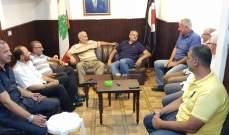 عضو المكتب السياسي بالقومي استقبل وفدا من حركة الجهاد الإسلامي بفلسطين