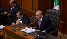 بري: قطع الحساب يتم عبر التصويت وسيكون هناك جلسة للحكومة ابان الجلسة التشريعية