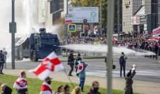 داخلية بيلاروسيا: هجوم بالمولوتوف على مركز شرطة في مينسك