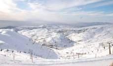 الثلوج غطت جبل الأربعين في الضنية وأغلقت طرقات القلعة والضنية- الهرمل وجرد النجاص