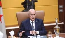 الرئيس الجزائري: قررت حل البرلمان وتنظيم انتخابات حرة ونزيهة بعيدة عن المال الفاسد