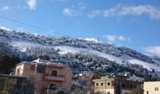 طقس نهاية الاسبوع ممطر والثلوج الاحد على ارتفاع 1400 متر