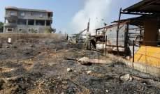 الدفاع المدني: إخماد 3 حرائق أعشاب يابسة في عيترون وحصرايل