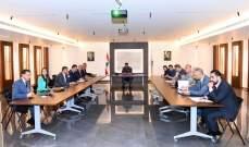 اللواء عثمان ترأس اجتماع لجنة التنسيق الوطنية لمكافحة تمويل الإرهاب