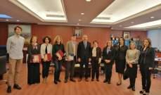 رئيس الجامعة اللبنانية التقى وفد المجلس الأعلى لتقييم البحوث في فرنسا