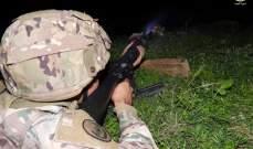 الجيش: مدرسة القوات الخاصة نفذت تمريناً تكتياً بالذخيرة الحية لعناصر من لواء المشاة الثامن