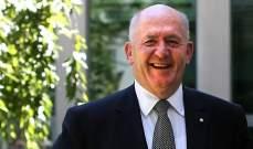 حاكم استراليا زار مدافن الكومنولث في منطقة جلول قصقص